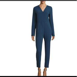 IRO solid jumpsuit in blue